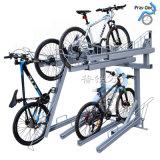 苏州双层立体自行车停车架厂家