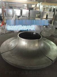 购物中心立柱铝板装饰-购物中心包柱铝板厂家