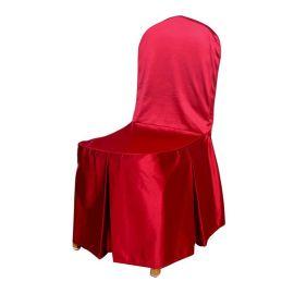 酒店椅套连体饭店餐桌椅子套罩餐厅宴会凳子套罩座椅套厂家批发