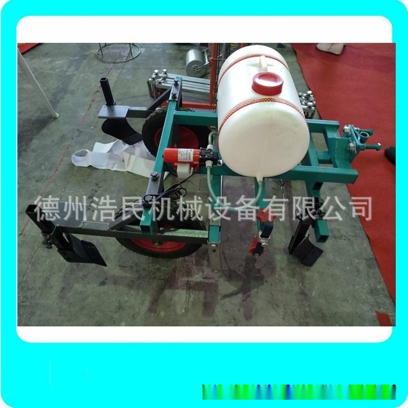 手扶拖拉機地膜覆蓋機噴藥鋪膜一體機地膜機蓋膜機