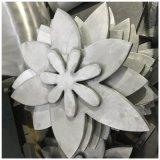 上海客戶定製雕刻鋁單板花束 藝術雙曲鋁單板雕花效果