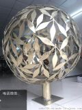 """巨型不锈钢球体造型雕塑亮相、1米8圆球""""扮靓广场图"""
