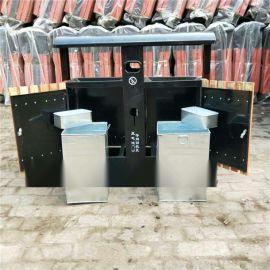 廊坊垃圾桶,河北鋼木垃圾桶廠家