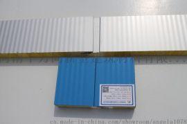 玻璃丝棉复合板A级防火玻璃丝棉夹芯板聚氨酯封边