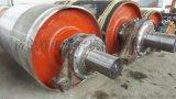 皮带机滚筒包胶的优势 皮带机滚筒包胶维修