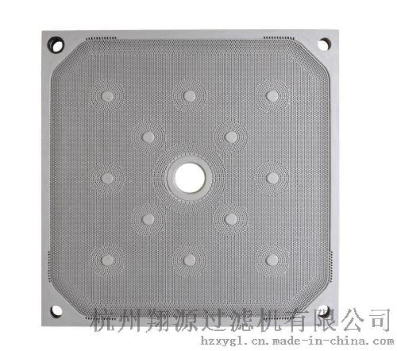 降低滤饼含水率 压滤机聚丙烯隔膜滤板