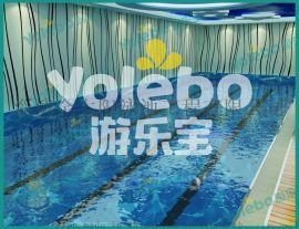 上海亚克力婴幼儿一体池 水上乐园游泳池金色太阳