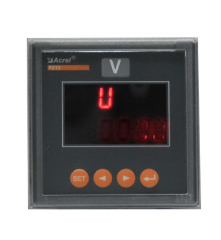 數位直流電壓表,PZ72-DU/M模擬量直流電壓表