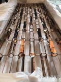 屏风隔断 客厅不锈钢屏风展示出主人高贵的品格