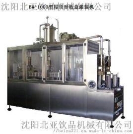 半自动果汁饮料灌装机供应商沈阳北亚