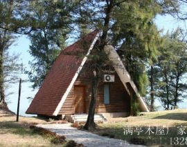 木屋廠家、輕鋼別墅.崗亭圖片、上海木屋