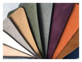 防刮耐磨頭層磨砂皮,1.3MM整張黃牛沙發磨砂皮