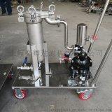 移動小推車過濾器 頂入袋式過濾器