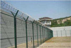 监狱警戒线高防护网-哨所警戒线钢丝防护网
