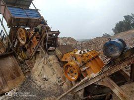 二手制砂生产线制砂机石料破碎机设备低价处理