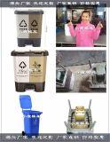 中国模具日本60升垃圾桶塑胶模具 加工定制