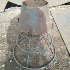 订制钢制DN300吸水喇叭口S312吸水喇叭口支架