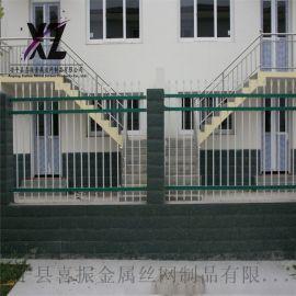 围墙护栏多钱一米,围墙铁栅栏,  安全防护栏
