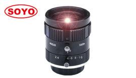 """6mm 1"""" 索友机器视觉工业FA镜头低畸变自动化"""