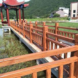 混凝土钢筋仿木栏杆 江西恒森36仿木栏杆