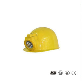 手電筒防水充電式安全帽戴