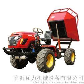 棕榈园四驱铰接式运输型拖拉机
