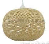 純手工竹編燈檯燈油紙傘