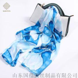 真丝丝巾的洗涤保养方法