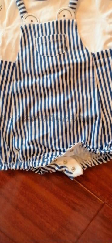 婴幼儿夏季印花短袖连体衣