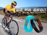 新款LED禮品手表韓式情侶帶屏果凍手表廠家