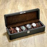 碳纤维皮质手表盒子木制表盒机械表展示盒收藏收纳盒
