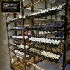 不锈钢酒架定制 红酒展示架 金属红酒架304玫瑰金