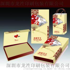 精品礼盒高档精装盒设计定制,翻盖烫金礼品盒定制