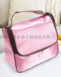深圳手袋厂专业生产化妆箱包