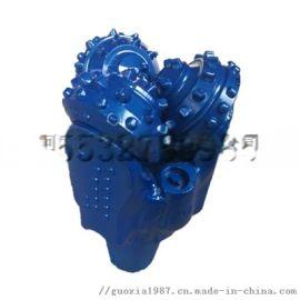 江汉镶齿133mm三牙轮钻头-专打地热井专用钻头