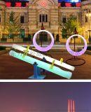 公園廣場外置防水玩具發光蹺蹺板