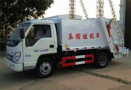 福田小卡3吨压缩式垃圾车