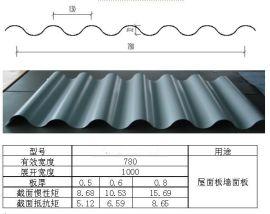 杭州厂家彩钢波浪板(YS32-130-780)