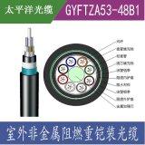 太平洋光缆GYFTZA53单模光纤 非金属阻燃光缆