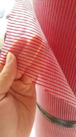 厂家现货供应尼龙七彩方格网布 彩条网布 礼品袋网布