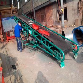 供应带式皮带运输机 皮带输送机托辊 直线型皮带输送线