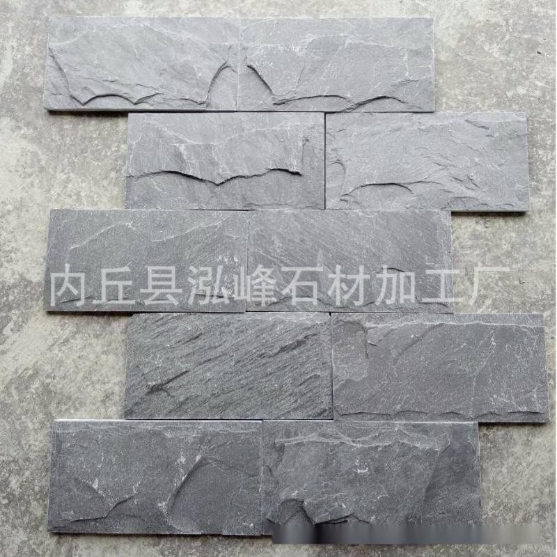 供应房屋仿古黄色砌墙石 公园景观墙建筑片石天然毛石外墙建材