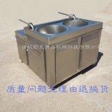 全自動商用灌腸機 臥式液壓不鏽鋼零存料 四川臘腸灌腸機