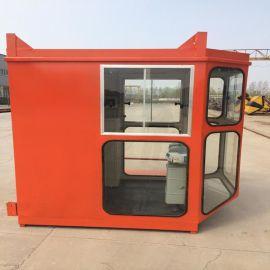 1.4*1.6鋼化玻璃司機室外殼 行吊司機室 聯動控制臺