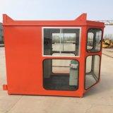 1.4*1.6鋼化玻璃司機室外殼 行吊司機室