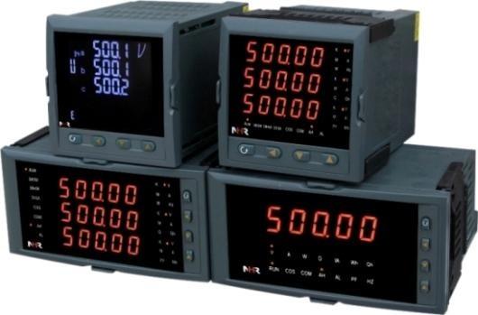 虹润仪表单相/三相电工数显仪表、液晶综合电量集中显示仪表