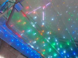 LED发光玻璃 智能玻璃 圣诞树