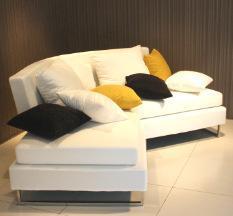 时尚布艺沙发现代风格客厅沙发 可定做弧度沙发白色转角沙发
