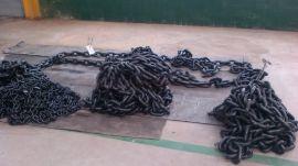 专业生产30x90mm起重链条厂家量大从优,承重28T起重链条,船用锚链