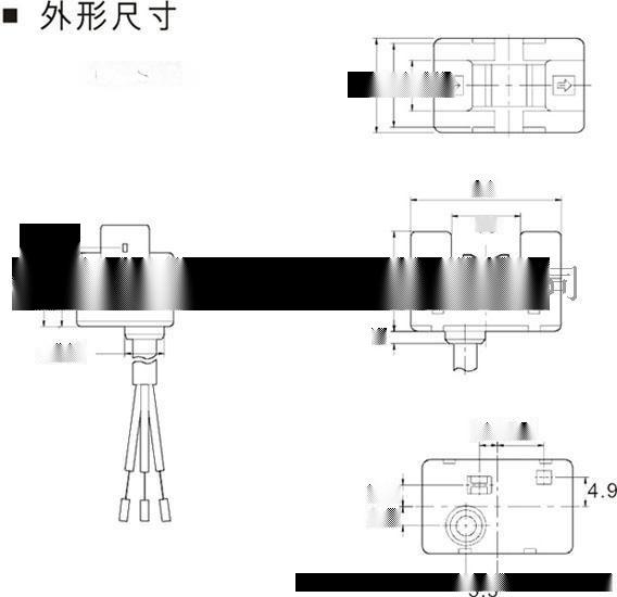 厂家直供UE-S13型液位传感器(放大器内置导管安装)/液位光电传感器